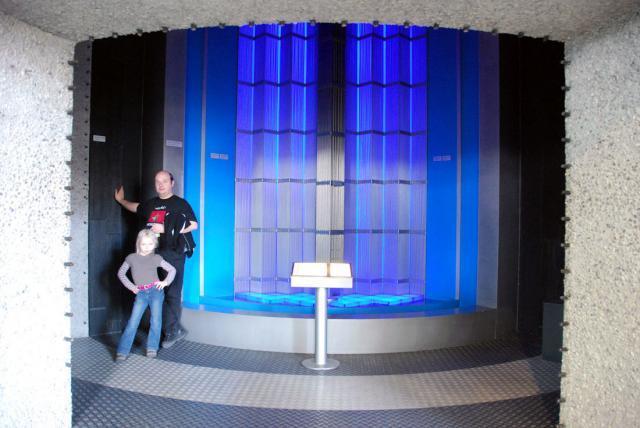 Как выглядит ядерный реактор Немецкий музей в Мюнхене