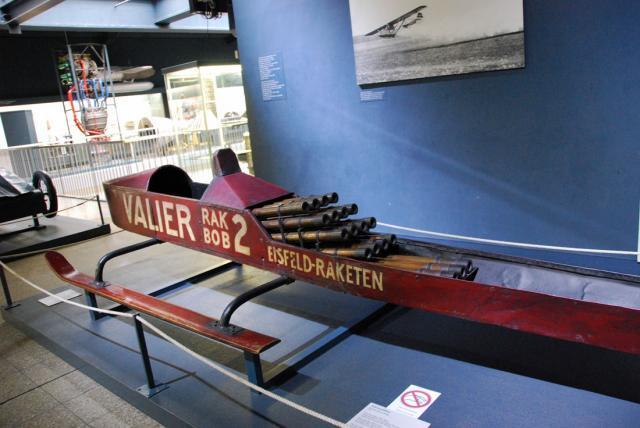 Реактивные сани Немецкий музей в Мюнхене