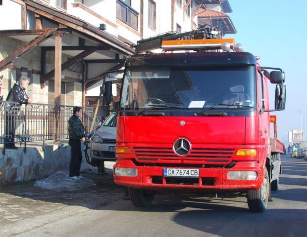 эвакуация авто в Болгарии