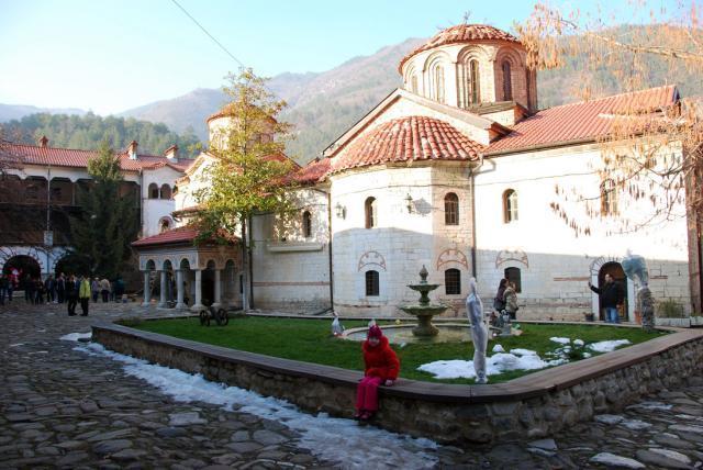 Бачковский монастырь Горные лыжи Банско Болгария