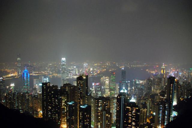 Гонконг с ребенком