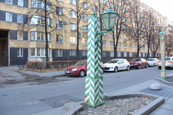 Одесская улица в Санкт-Петербурге