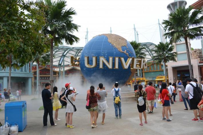 парк Юниверсал Студио в Сингапуре